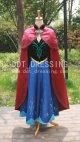 デイスニー   アナと雪の女王 アナ 衣装 フルセット