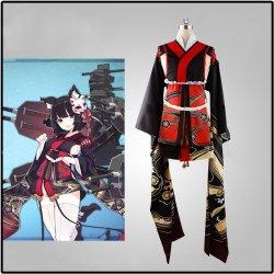 画像1: アズール レーン  山城 風 コスプレ衣装