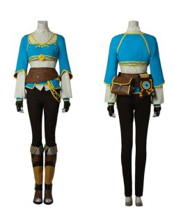 画像1: ゼルダの伝説 ブレス オブ ザ ワイルド  breath of the wild ゼルダ姫 Princess Zelda  戦闘服