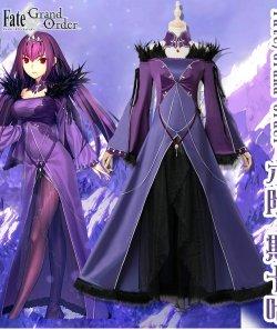 画像1: Fate Grand Order FGO スカサハ   風 コスプレ衣装