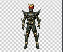 画像1: 仮面ライダークウガ Kamen Rider Kuuga  アルティメットフォームUltimate 風 コスプレ衣装 風 コスプレ衣装 Form