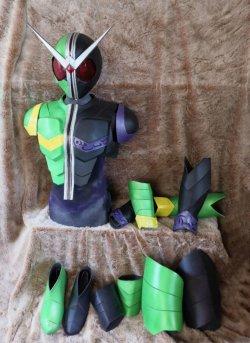 画像3: 仮面ライダーダブル Kamen Rider Double サイクロンジョーカー/CycloneJoker   風 コスプレ衣装