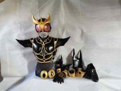 画像2: 仮面ライダークウガ Kamen Rider Kuuga  アルティメットフォームUltimate 風 コスプレ衣装 風 コスプレ衣装 Form