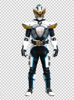 画像1:  仮面ライダー イクサ  Ixa 風 コスプレ衣装