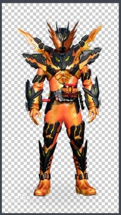画像1:  仮面ライダークローズマグマCross-Z Magma  風 コスプレ衣装